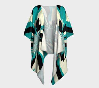 Teal Splash Kimono preview