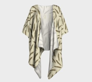 Rebel Draped Kimono in Two Sands preview
