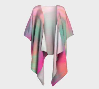 Pastel Perfect Draped Kimono preview