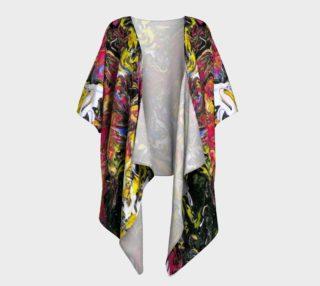 Flash Art Draped Kimono preview