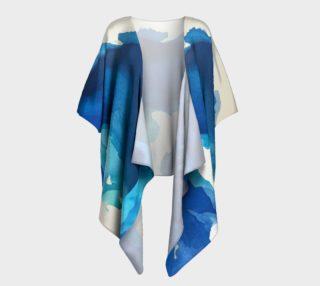 Breathe Into Blue Kimono drape preview