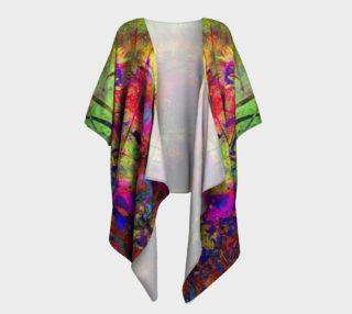 Aperçu de Sunflower Fantasy Draped Kimono