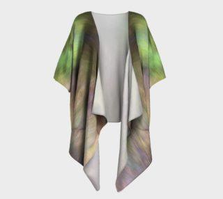 Shy Rainbow Draped Kimono preview