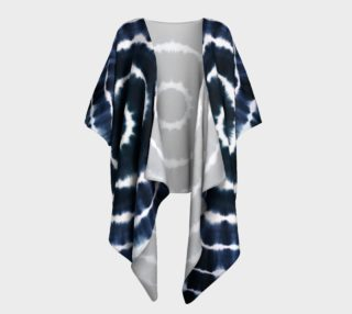 BOHO INDIGO - SEE YOU SOON DRAPED KIMONO preview
