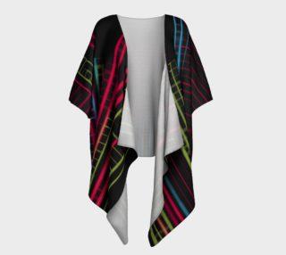 City Slicker Draped Kimono preview