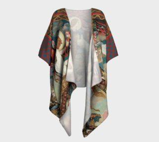 Aperçu de St. Bride - Draped Kimono