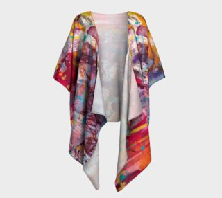 Happiness Draped Kimono preview