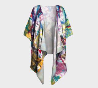 Happiness 3 Draped Kimono preview