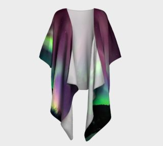 Aperçu de Lovely Night in Alaska, Draped Kimono
