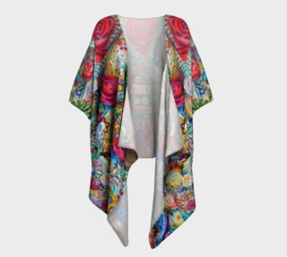 Love One Another Draped Kimono preview