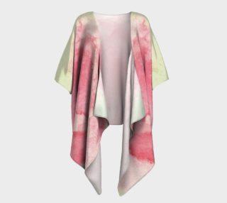 Aperçu de Rose Blush Draped Kimono
