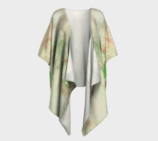 Stained Glass Fireworks Draped Kimono preview