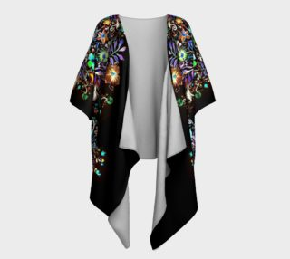 Bohemian Evening Draped Kimono preview