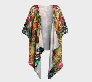 Bohemian Goddess Draped Kimono preview