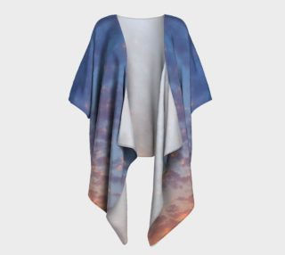 Aperçu de Endless Sky Draped Kimono