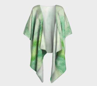 Fleur Verte Draped Kimono preview