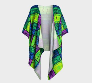 Serenity Stained Glass Kimono Drape preview