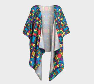 Mirage Stained Glass Kimono Drape preview