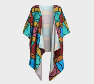 Pueblo Diamond Mosaic Kimono Drape preview