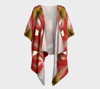 Amaryllis Flower II Kimono Drape preview