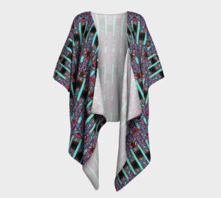 Metropolitan Stained Glass Kimono Drape preview
