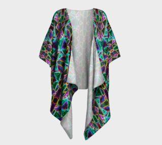 Isabelle's Gemstone Garden Kimono Drape preview