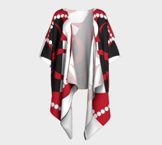 Raven Emerging - Red, Black, White aperçu