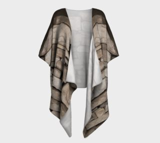 Textural Antiquities Herculaneum Five Draped Kimono preview