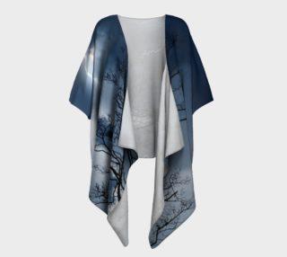 Electric Conversation - Draped Kimono  preview