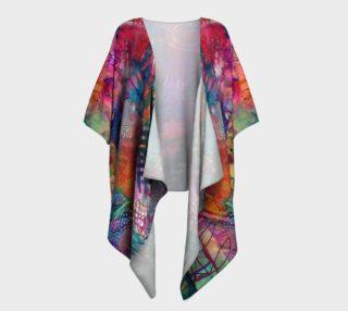 A Delicate Mess Draped Kimono preview