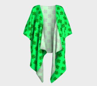 Lucky Leprechaun Draped Kimono preview