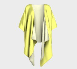 Canary Draped Kimono preview