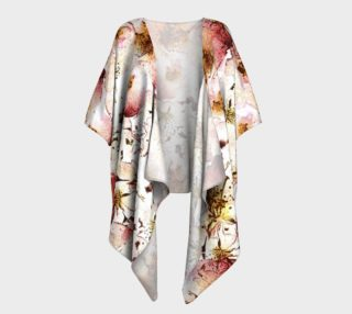 Watercolor Floral Draped preview