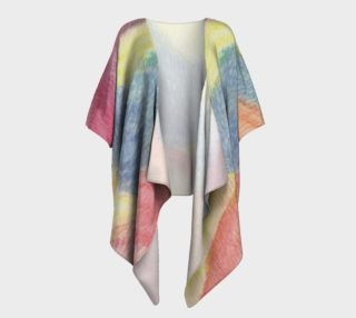 Rainbow Song Draped Kimono preview
