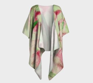 Noel Stained Glass Draped Kimono preview