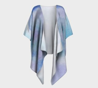 Blue Rose Dance Draped Kimono preview