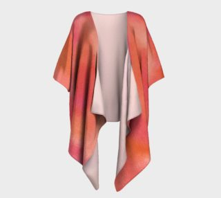 Poppy Song Draped Kimono preview