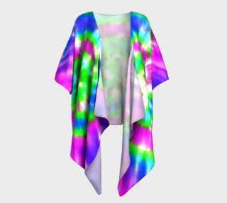 Retro Tie Dye 5 Pink, Blue, Turquoise, Green preview