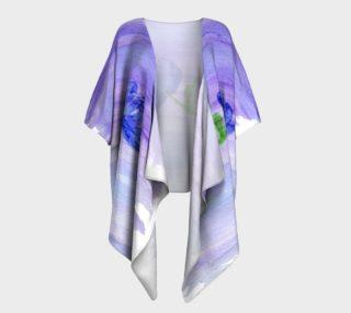 Mum Flower Draped Kimono preview