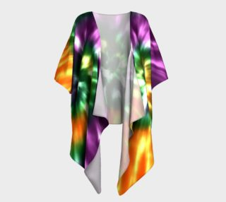 Tie Dye in Purple, Gold and Green preview