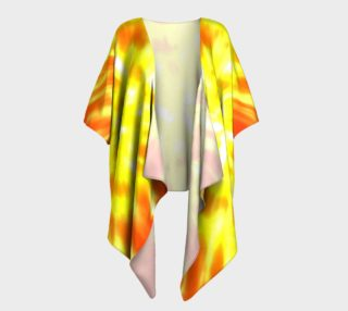 Retro Tie Dye - Yellow and Orange preview