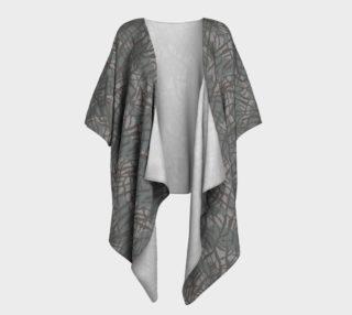 Elephant Skin Draped Kimono preview