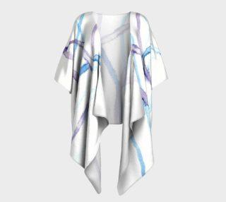 Lines Draped Kimono preview