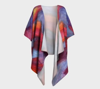 Colour Harmony Draped Kimono preview
