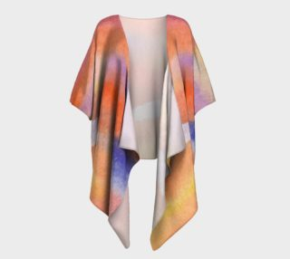 Emblazon II Draped Kimono preview