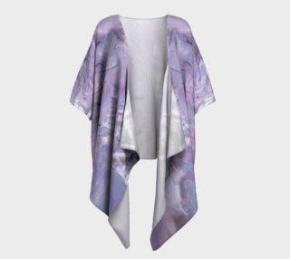 The Bold Temptation Draped Kimono preview