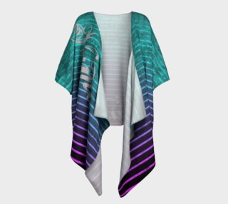 Umsted Design Draped Kimono Distressed Stripe Namaste preview
