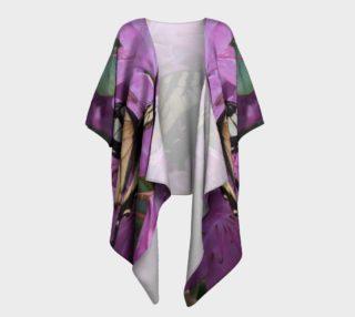 Monarch Butterfly Draped Kimono preview
