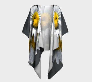 Daisies Draped Kimono preview