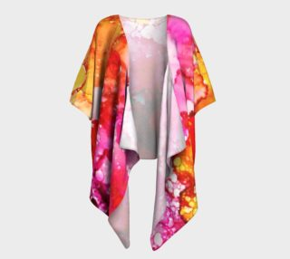 From My Garden Draped Kimono preview